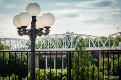 Great view of the old iron bridge in downtown Bastrop, Texas! Photo by Ken Parmley, Parmazon.