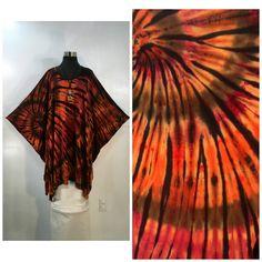by qualicumclothworks on Etsy Shibori Tie Dye, Caftans, Tie Dye Skirt, Bamboo, Cotton, Etsy, Ponchos, Kaftans