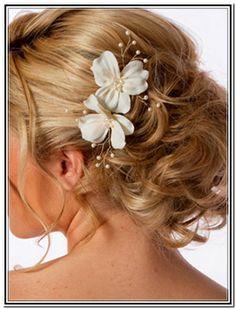 Updo Hairstyles For Weddings For Medium Length Hair - Hair Color ...