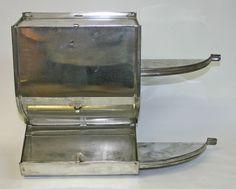 Hoosier Door Mount Sugar Bin / Old Stock & Hoosier Cabinet Side Mounting Brackets | To Make- Home | Pinterest