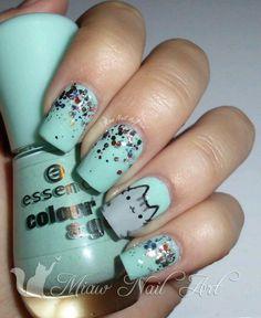 #nail #nails #NailArt #NailsArt #Art #NailDesing #nailColor #color #pink #blue #white #black #nailPink