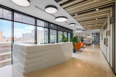 Servier offices by ABD Architects, Moscow – Russia