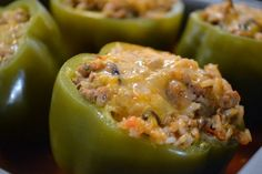 Stuffed Peppers with Turkey and Brown Rice | Tasty Kitchen: A Happy Recipe Community!