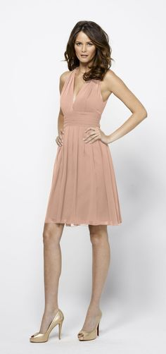Watters Style 1516 Bridesmaid Dress in Buff