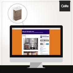 As linhas de móveis Celite foram novamente destaque na mídia! Agora foi a vez do blog da Revestir explorar as soluções que aliam design, qualidade e funcionalidade para o seu banheiro.