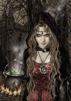 beautiful witc with roses | Beautiful Witch Pictures, Images and Photos