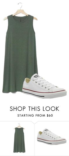 """""""Untitled #220"""" by poly-187 on Polyvore featuring Gap and Converse"""