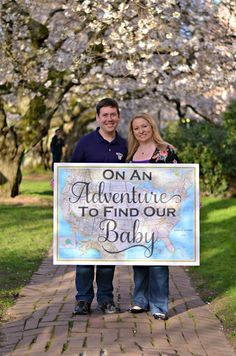 Adoption announcement. Announcing to our friends and family that we are working through the adoption process.