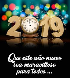 Buy Happy New Year Holiday Background with Clock by almoond on GraphicRiver. Happy New Year holiday background with a clock and firework. Fully editable, vector objects separated a. Happy New Year Images, Happy New Year 2019, Merry Christmas And Happy New Year, Happy Thanksgiving, Christmas Holidays, Happy Year, New Year Holidays, Holidays And Events, Happy Holidays