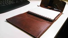B6 Leather Journal Case by KASALeather on Etsy