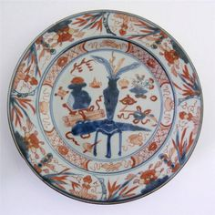 18TH CENTURY CHINESE IMARI PORCELAIN PLATE, KANGXI PERIOD in Antiques, Asian/ Oriental Antiques, Chinese | eBay