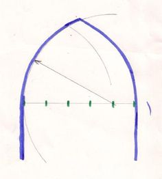 Gothic arch shape. possible entry to breezeway and 'tower' windows. see Acension Cath. church's small gazebo structure with beautiful simple roof joining.