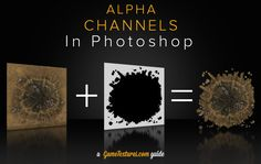 Putting your texture in an Alpha Channel using Photoshop 3d Tutorial, Alpha Channel, 2d, Photoshop, Tutorials, Celestial, Texture, Programming, Videogames