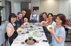 Busan Local Food Cooking Class with Creative Local Chef (incl. Homemade Tea, Homemade Sauce, Vegan Menu, Vegan Vegetarian, Bean Sprout Soup, Squid Salad, Korean Dishes, Busan, Cooking Classes