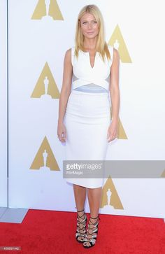 Actress Gwyneth Paltrow arrives at The Academy Hosts Hollywood Costume Private Luncheon at Wilshire May Company Building on October 8, 2014 in Los Angeles, California.