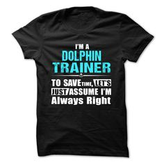 Love being A DOLPHIN TRAINER T-Shirts, Hoodies. CHECK PRICE ==► https://www.sunfrog.com/Geek-Tech/Love-being--DOLPHIN-TRAINER.html?id=41382