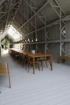 Artek Pavilion by Shigeru Ban #interior