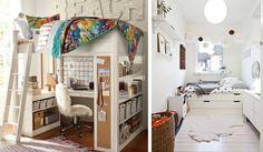 ¿Vives en una habitación pequeña? 22 ideas que la transformarán en un lugar fantástico