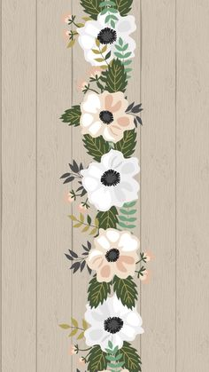 By Artist Unknown🇺🇸. Cute Wallpaper Backgrounds, Flower Backgrounds, New Wallpaper, Flower Wallpaper, Screen Wallpaper, Mobile Wallpaper, Pattern Wallpaper, Iphone Wallpaper, Beautiful Wallpapers For Iphone