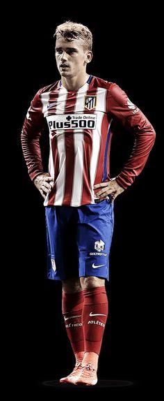 Griezmann Atletico de Madrid Madrid Football Club, Football Is Life, Sport Football, Football Drills, Football Players, Neymar Football, Antoine Griezmann, French Soccer Players, Psg
