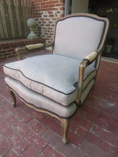 Upholster existing bergere chair?
