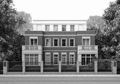 2 Stadthäuser in Hamburg Alsterdorf