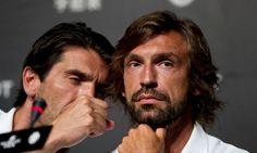 Andrea Pirlo & Gianluigi Buffon