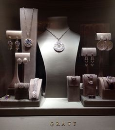 Graff Window Displays in Crystals at City Center, Las Vegas - Photo by Wendy Tomoyasu