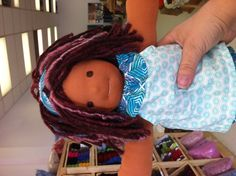 Love her! Such a fun doll to make.   Currently sitting at Birkeland's awaiting an adoption!