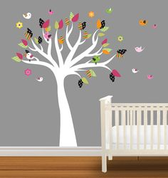 Vinyl Wall Decal Nursery Tree Decal Glenna Jean Bedding on Etsy, $99.99