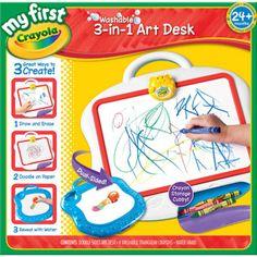 My First Crayola 3-in-1 Magic Art Desk