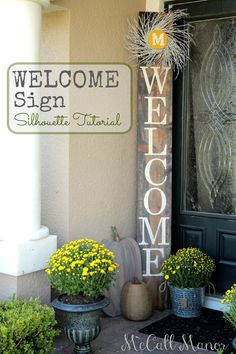 Welcome Sign by McCall Manor  cover photo