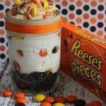 No Bake Cheesecake: Reese's Pieces