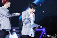 140511 EXO Comeback Showcase in Shanghai - Chanyeol Baekhyun #Chanbaek #Baekyeol