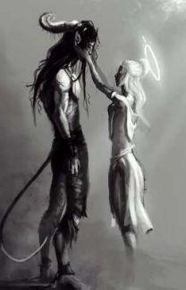 Dark Art Illustrations, Dark Art Drawings, Art Drawings Sketches, Dark Fantasy Art, Fantasy Artwork, Satanic Art, Ange Demon, Arte Obscura, Mythical Creatures Art