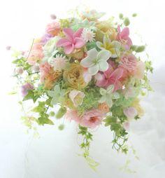 Flower Bouqet, Pastel Bouquet, Pastel Flowers, Love Flowers, Beautiful Flowers, Floral Wedding, Wedding Bouquets, Wedding Flowers, Beautiful Flower Arrangements