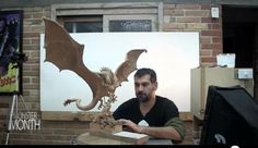 HOW-TO-SCULPT-A-DRAGON-ATTACKING-IN-MID-FLIGHT.jpg (416×241)