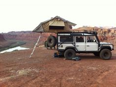 Home is where the Landy is.