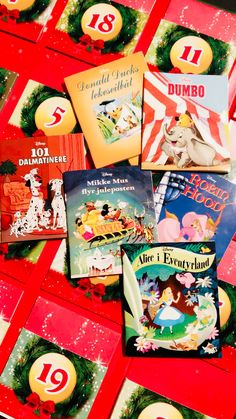 Disney christmas calender | calender for kids | Walt Disney stories | disney books | best disney stories Disney Christmas, Walt Disney, Alice, Gift Wrapping, Books, Kids, Inspiration, Dalmatian, Gift Wrapping Paper
