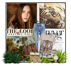 """The look : Forever young"" by divaivana ❤ liked on Polyvore featuring Out of Africa, H&M, Alexander McQueen, New Directions, Charlotte Russe, Larsson & Jennings, Kim Seybert, vintage, women's clothing and women's fashion"