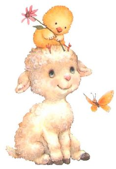 Alfabeto animado de ovejita y pollito. Cute Cartoon Animals, Cute Little Animals, Baby Cartoon, Baby Animal Drawings, Cute Drawings, Cute Owls Wallpaper, Cute Animal Illustration, Cool Art Projects, Kawaii