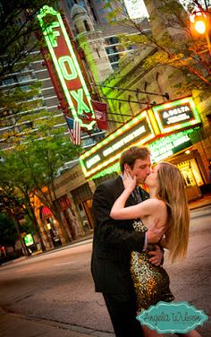 See Engagement Photos from three great Atlanta wedding venues -- The Fox Theater, Georgian Terrace, and Callanwolde Fine Arts Center. Engagement Shots, Engagement Pictures, Atlanta Wedding Venues, Piedmont Park, Photo Ideas, Picture Ideas, Wedding Poses, Wedding Photography, Photography Ideas
