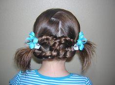 Peinados de Primera Comunión para niñas