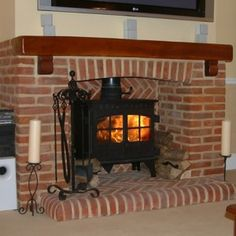 How To Paint A Brick Fireplace - Addicted 2 Decorating®