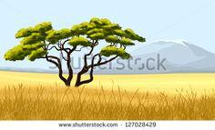 african savannah landscape - Google Search