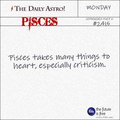 Pisces Visit The Daily Astro for more facts about Pisces. You'll love exploring through the really cool Pisces zodiac erudition at iFate. Leo Daily, Scorpio Daily, Daily Astrology, Astrology Pisces, Pisces Zodiac, March Pisces, Scorpio Star, Zodiac Scorpio, Zodiac Cancer