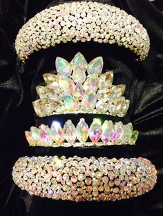 Amazing handmade Irish dance tiaras and headbands! She even does custom orders in any color if you just message her!