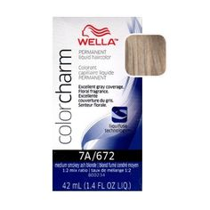 Wella Color Charm's packaging utilizes a color-coded tonal family system, making shade selection easy! Liquid Permanent Hair Color time tested formulations ensure consistent, predictable results. Liqu