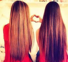 ever brunette has to have a blonde best friend!