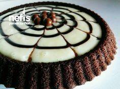 Pudding Tart Cake (with video) Full Size - Yummy Recipes, Turkish Sweets, Custard Tart, Mac And Cheese Homemade, Pudding Cake, Cake Videos, Turkish Recipes, Eat Cake, Quiche, Cake Recipes